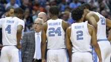 Defending champ UNC blown out by Texas A&M in stunning tourney defeat