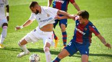 Foot - ESP - Liga: Sans briller, le Real Madrid s'impose à Levante et prend le fauteuil de leader