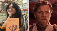 Lucía Etxebarria la pifia al confundir a Ewan McGregor con Ian McEwan en su defensa de J.K. Rowling