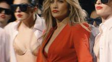 "Jennifer López espectacular en rojo en la probadita de su clip ""limitless"""