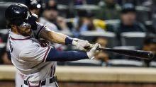 Morton earns 100th win, Stroman hurt as Braves blank Mets