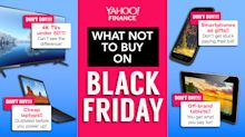 Black Friday items you shouldn't buy
