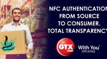 GTX Corp Global NFC Shipment SolutionsSelected for Nomad Spirits Company Launch