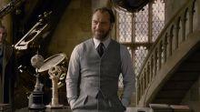 """""""Grindelwalds Verbrechen"""": 1. Trailer zeigt Jude Law als Dumbledore"""