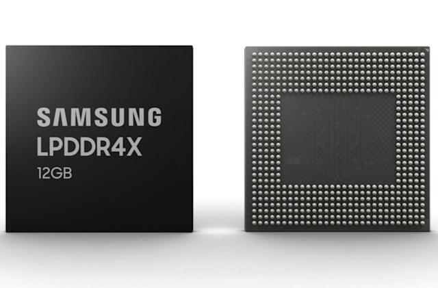 Samsung unveils the highest-capacity smartphone DRAM yet