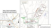 TomaGold's partner IAMGOLD intersects 357 g/t Au over 0.8 metres at Monster Lake, Quebec