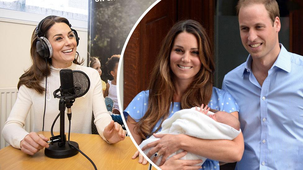 Kate reveals 'mum guilt' and says she was 'terrified' after having George