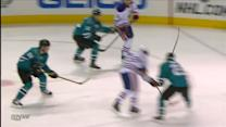 Nugent-Hopkins whips a shot behind Niemi