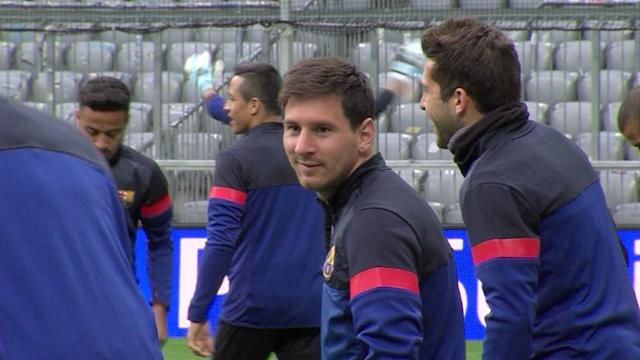 Suspense sobre Messi