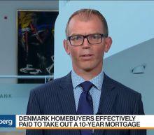 Denmark's Jyske BankSets Negative-Rate Mortgage Milestone