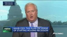 Proposed tax plan could lead to housing recession, says home builders association CEO