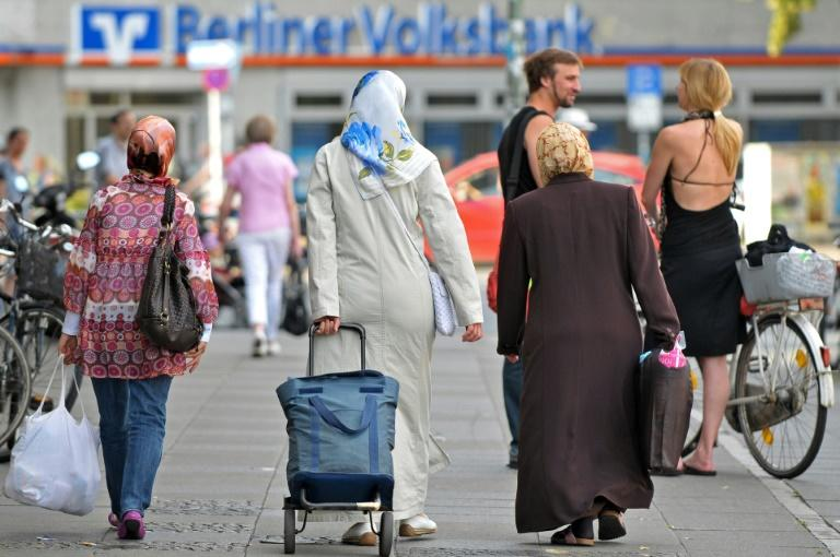 Around three million people with Turkish nationality or roots live in Germany, a third of them Kurds (AFP Photo/KAVEH ROSTAMKHANI)