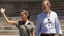 Queen Letizia wore a Mango jumpsuit and it's still in stock