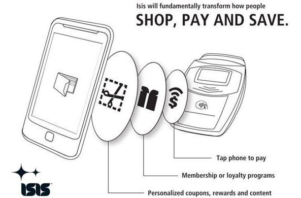 Isis NFC payment system gets its first market in Salt Lake City, Utah, launches in 2012