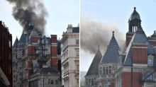 Knightsbridge fire: More than 100 firefighters called to tackle blaze at five-star hotel