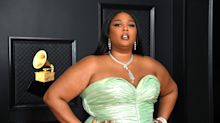 Lizzo's glam Grammy red carpet look featured these 'mega volume' $8 false eyelashes