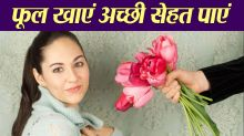 Know about Amazing Health benefits of edible flowers