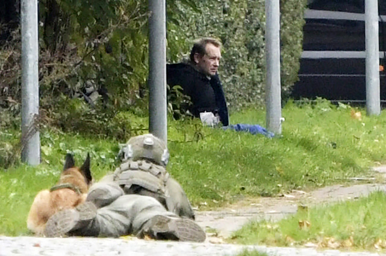 Danish sub killer recaptured after attempted prison escape