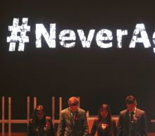 Survivors of school shooting take gun control message abroad