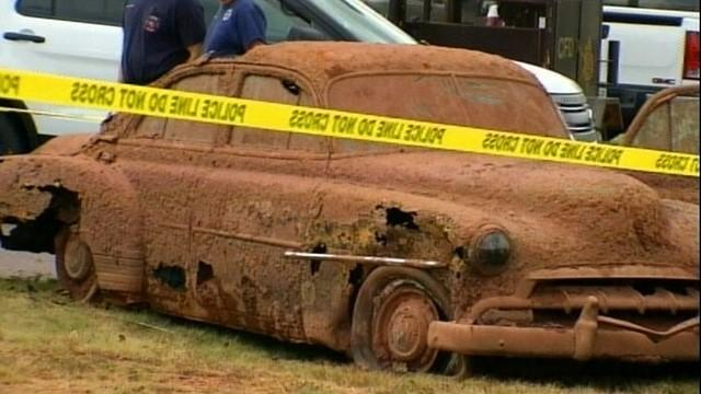 Cars Found in Oklahoma Lake Yield Skeletal Remains