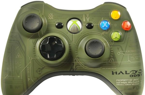Halo 3: ODST's limited edition 360 controller