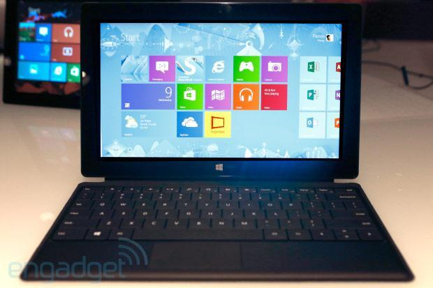 Surface Pro appears in some retail stores, now's your chance to see it in person