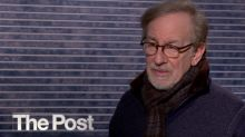 Is 'The Post' a reaction to Trump and his 'fake news'? Steven Spielberg and the cast weigh in