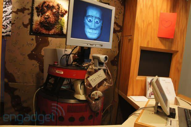 Robotic butlers, bartenders and receptionists at Carnegie Mellon (video)