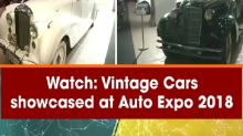 Watch: Vintage Cars showcased at Auto Expo 2018