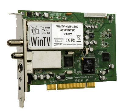 Hauppauge adds QAM support to the WinTV-HVR-1600 dual tuner card