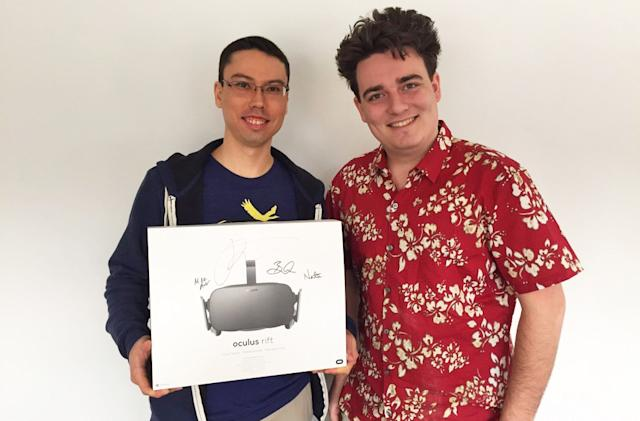 Oculus founder flew to Alaska to deliver the first consumer Rift