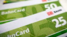 Mehrwertsteuersenkung: Bahncards 50 und 25 werden billiger