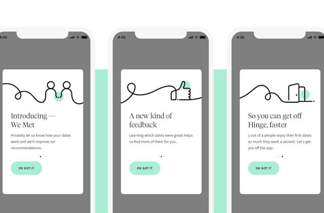 Hinge's AI will use first date feedback to improve matches