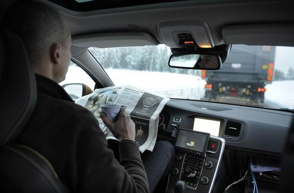 Volvo's platooning SARTRE cars drive themselves, dabble in existentialism (video)