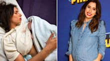 Stacey Solomon praised for 'raw and real' post-birth post complete with blood stains
