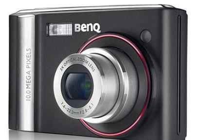 BenQ offers up 10 megapixel E1000 point-and-shoot