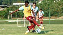 Metinho celebra presença entre os melhores Sub-17 do mundo: 'É fruto de muito trabalho e dedicação'