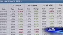 Interest rates starting to climb back up