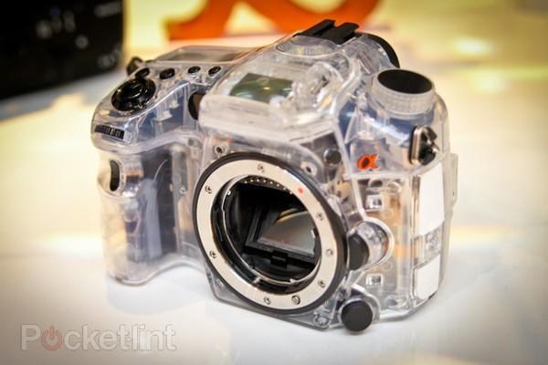 Sony's see-through Alpha DSLR gets the hands-on treatment, probably won't get a launch date