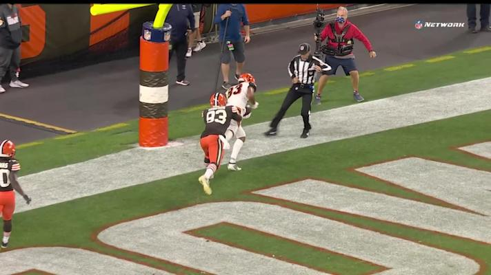 Can't-Miss Play: Boyd hauls in Burrow's TD laser in back of the end zone