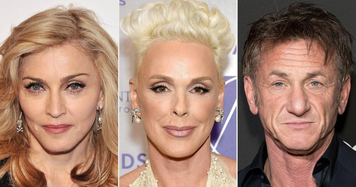 Brigitte Nielsen Claims She Had a 'One-Night Stand' with Sean Penn to 'Get Back' at Madonna - Yahoo Entertainment
