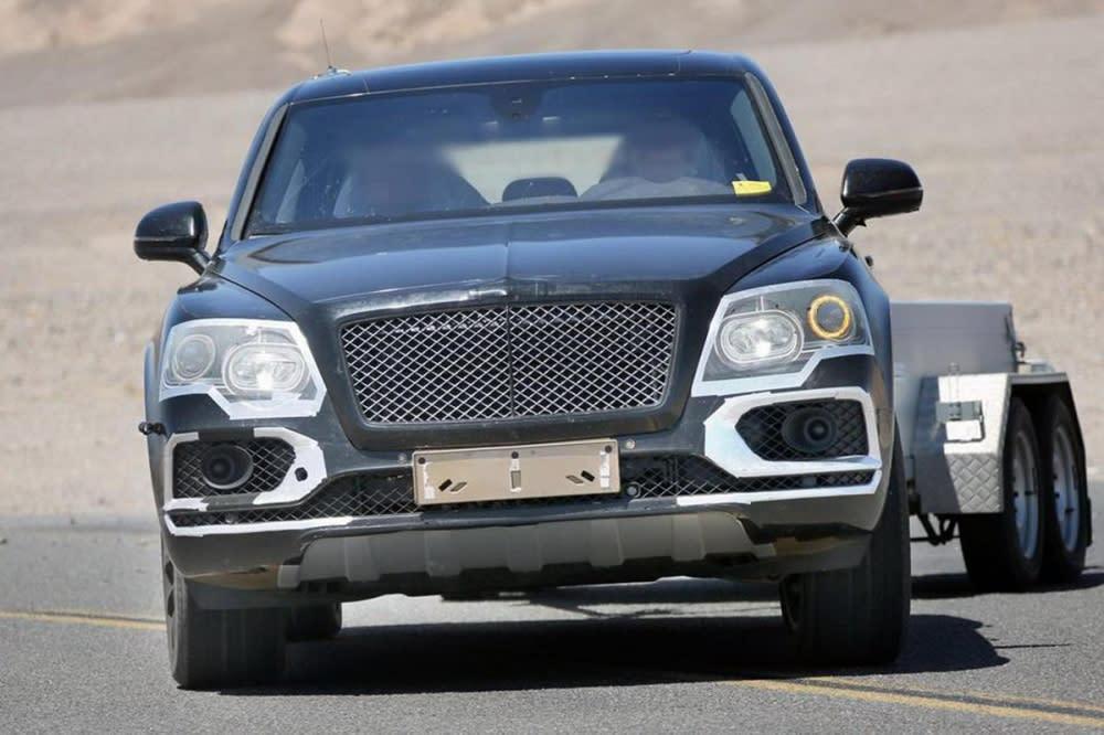「地表最強SUV?」Bentayga現身加州死亡谷,接受「炙燒」測試