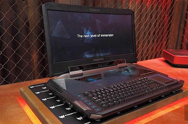 Acer's 21-inch 'laptop' gives ridiculous a new name