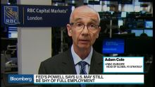 Market Sees End Game of Fed Tightening, Says RBC Europe's Cole
