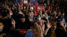 Hundreds of Thai protesters rally to demand leaders' release