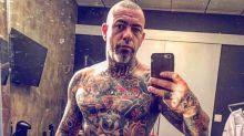 Chef Henrique Fogaça mostra como era há 21 anos com menos tatuagens