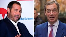 'A p*** in a suit!': Nigel Farage hits back at Danny Dyer