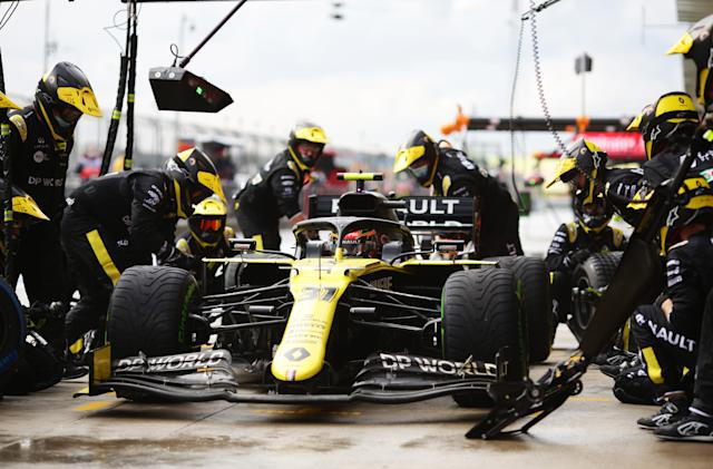 F1 engine makers are testing sustainable fuel