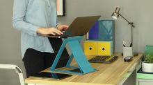 新一代 MOFT Z 進行眾籌,居家辦公也能有站立式電腦桌
