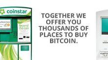 Coinme and Coinstar give Bitcoin a boost Stateside